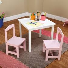 White Kids Desk And Chair Set by Madeline Kids Table And Chairs Set Antique White Pink Tms Target