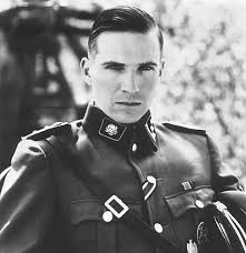 German Officer Haircut   undercut hairstyle long hair how to do ss german soldier hair