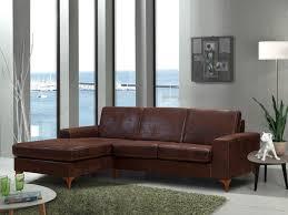canapé d angle fixe canapé d angle fixe contemporain en tissu marron marcy canapé d