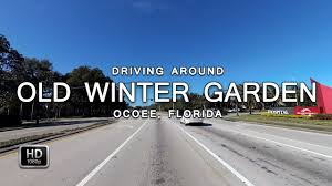 driving on old winter garden rd from kirkman rd to maguire rd in
