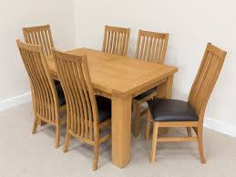 oak and leather dining room chairs alliancemv com