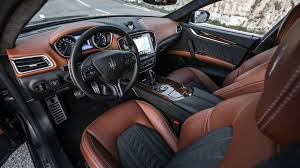 maserati ghibli interior maserati ghibli 2018 review by car magazine