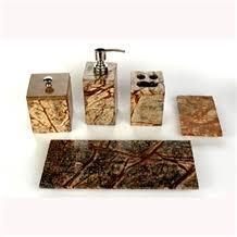 Teak Bathroom Accessories Stone Bathroom Accessories Rainbow Teak Sandstone Bath