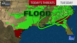 Severe Weather Map Video Tornado Warning Issued In The South