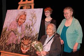 Smithers Interior News Obits Smithers Secondary Elders Portrait Unveiling Smithers Interior News