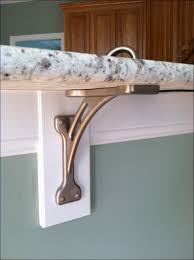 Wood Shelf Brackets Decorative Furniture Marvelous Decorative Metal Brackets For Wood Beams