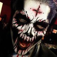 scary halloween make up by batjas88 make up u0026 nails pinterest