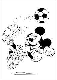 Mickey Mouse Barn Mikke Mus Fargelegging For Barn Tegninger For Utskrift Og