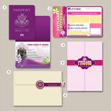 Boarding Pass Wedding Invitation Card April Twenty Five April U0027s Styleboards Thesvetlana Passport And