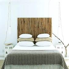 easy headboard ideas wonderful quick and easy way to add a decorative bamboo quick easy