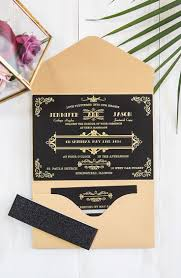 Wedding Invitations With Free Response Cards 51 Best Black Wedding Invitations Images On Pinterest Black