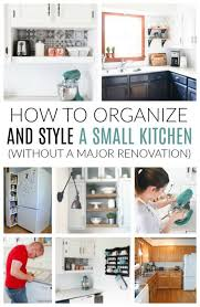 how to organise a kitchen without cabinets how to live with a small kitchen without doing a major