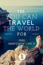 travel for free images Yes you can travel the world for free here 39 s how i did it free jpg