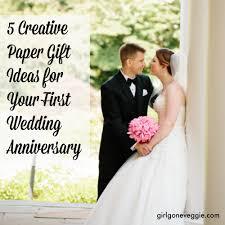 one year wedding anniversary gifts creative anniversary gift ideas for one year