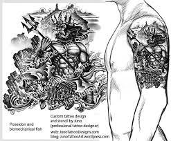 poseidon tattoos tattoo collections