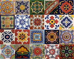 Mexican Tile Bathroom Designs Talavera Tile Designs U0026 Sources For Diy Talavera Bathroom Design