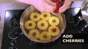 how to make a pineapple upside down cake on the stove youtube