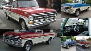 Classic Ford Truck Database - 1971 ford f100 news reviews msrp ratings with amazing images