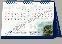 desain kalender meja keren jan feb kalender cv duta pariwara