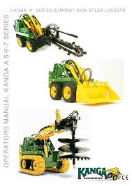 operators manual a5 6 7 series by kanga loaders issuu