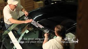 Ford Ranger Truck Decals - camo truck windshield decal installation youtube