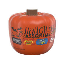 amazon com hershey u0027s halloween assortment pumpkin bowl 50 2