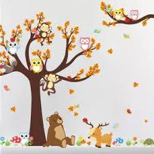 stickers arbre chambre enfant stickers arbre chambre enfant achat vente pas cher