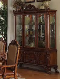 Corner Dining Hutch Interior Transitional Dining Room Hutch Ideas With Wine Rack