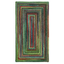 Capel Area Rug Capel Parakeet 4 Ft X 6 Ft Concentric Area Rug
