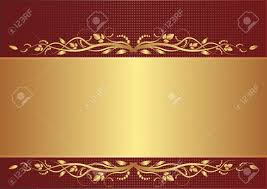 burgundy and gold background with floral ornaments royalty free
