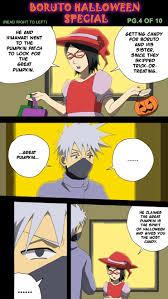 Great Pumpkin Blaze Membership by Boruto Halloween Special Pg 4 Of 10 By Botanofspiritworld On