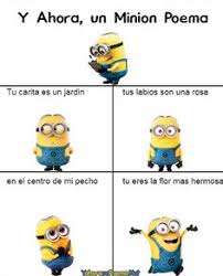 Minions Memes En Espaã Ol - minion poema pinteres