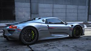 porsche spyder 918 2015 porsche 918 spyder u0026 weissach kit add on real spoiler
