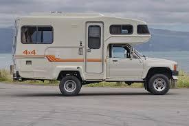 toyota sunrader floor plans northstar flatbed camper off road rvs 4wd pinterest truck