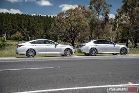 lexus luxury car 2016 hyundai genesis vs lexus gs 350 v6 luxury car comparison