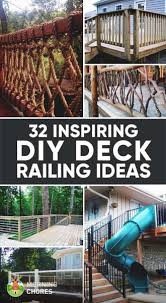 Ideas For Deck Handrail Designs 32 Diy Deck Railing Ideas U0026 Designs That Are Sure To Inspire You