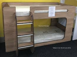 Shortie Low Height Bunk Beds Sleepland Beds - Height of bunk beds
