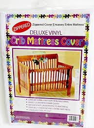 Dust Mite Crib Mattress Cover Deluxe Vinyl Crib Mattress Cover Zippered Keeps Bed Bugs Mites