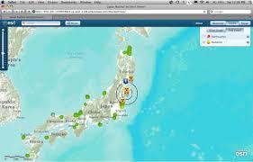 Earthquake Incident Map Disaster Response In Japan Earth Imaging Journal Remote Sensing