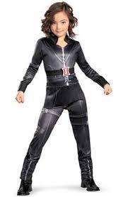 Halloween Costumes Older Kids Female Superhero Costumes Kids Girls Black Widow Avengers