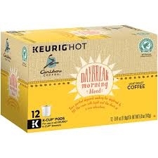 light roast k cups caribou coffee daybreak morning blend light roast k cups from