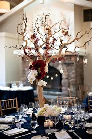 trees for wedding centerpieces 23 vibrant fall wedding