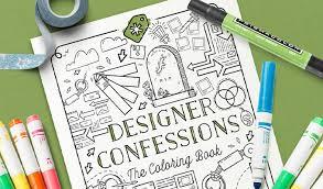 free coloring book designers creative market blog
