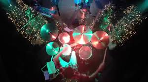 little drummer boy live rock cover drum cover youtube