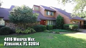 whisper way pensacola home for rent realty masters of fl youtube