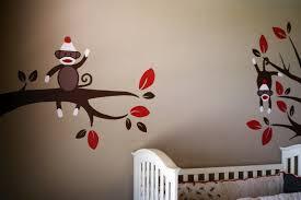 paint sock monkey nursery modern home interiors sock monkey