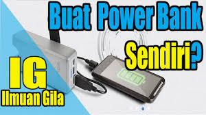 cara membuat powerbank menggunakan baterai abc ide kreatif membuat power bank dengan baterai abc usb youtube