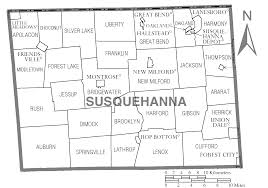 Pennsylvania City Map by File Map Of Susquehanna County Pennsylvania Png Wikimedia Commons