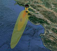 Maps Google Com San Francisco by Nuclear Explosion Map Simulates Fallout Clouds Using Local Weather