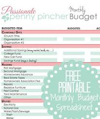 25 unique monthly budget printable ideas on pinterest monthly